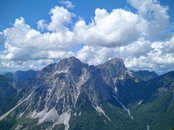 Panorama verso Creta Grauzaria e Monte Sernio
