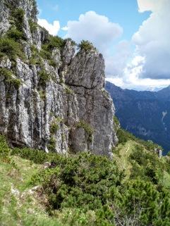 "Sul sentiero ""Palis d'Arint"""