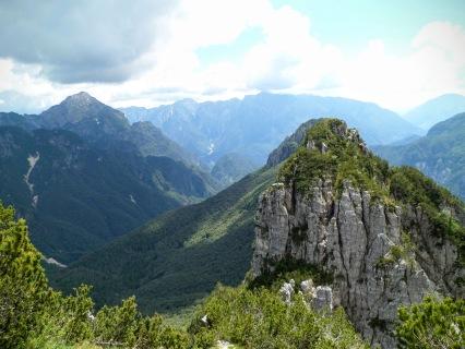"Sul sentiero ""Palis d'Arint"" verso il Plauris"
