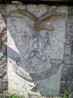 Grande Fregio 12^ Comp. 8° Reggimento Alpini