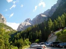 Parcheggio del rifugio Tolazzi