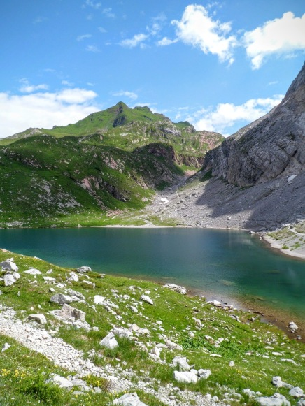 Lago Volaia e Rauchkofel