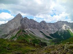 Panorame verso monte Volaia