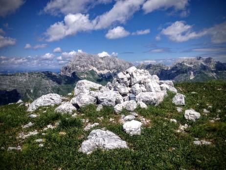 Cima del monte Sart