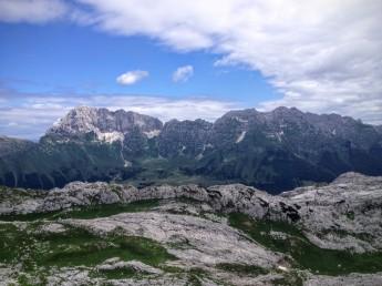 Panorama verso il Montasio