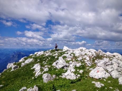 Vetta del monte Sart