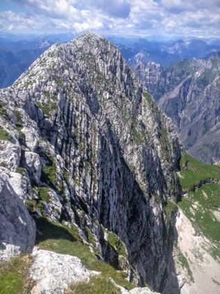 Parete nord del monte Sart
