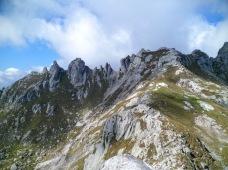 Panorama verso Cima Trento