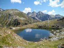 Lago di forcella Magna