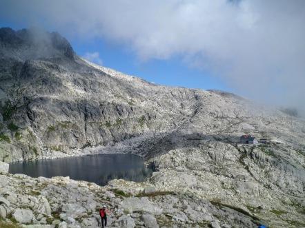 Lago Cima d'Asta e rifugio