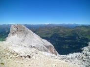 Panorama verso monte Elmo