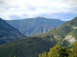 Monte Stol dalla mulattiera