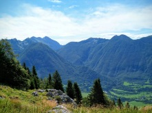 Panorama verso Monte Nero