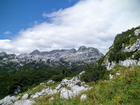 La dorsale Golovec-Leupa-Cergnala-Cima Confine