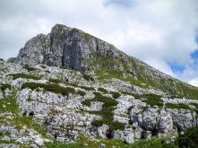 Monte Rombon dalla sella Cukla