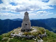 Monumento commemorativo sul monte Cukla