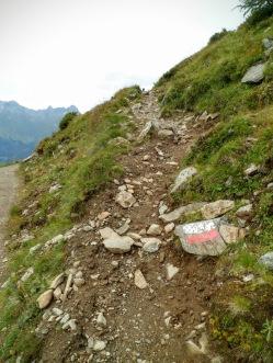 In salita verso Zupalkogel