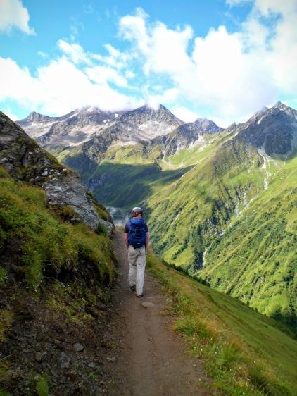 Verso la valle di Lasnitz