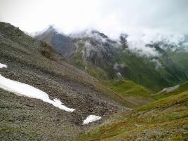 Si scende nella valle di Kleinbach