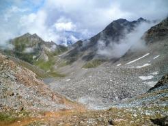 Panorama da Rote Lenk verso la valle di Kleinbach