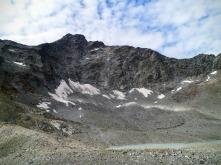Keesegg (3173m) e il ghiacciaio Daberkees