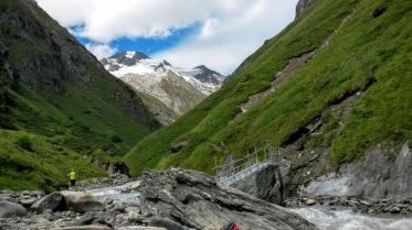 Sullo sfondo Rotspitze