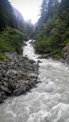 Lungo il sentiero della cascate dell'Umbal