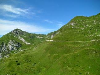 A sx monte Verzegnis