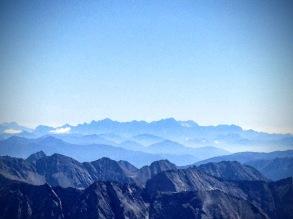Le Alpi Giulie italiane.