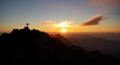La cima del monte Coglians.