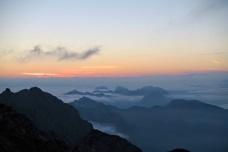 Panorama verso il monte Sernio