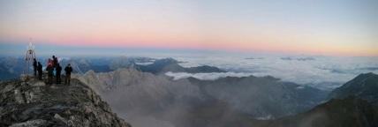 Panorama verso il monte Volaia