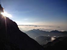 Panorama verso monti Terzo e Zoufplan