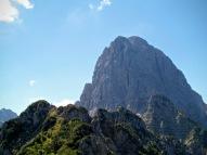 Parete norde del monte Sernio