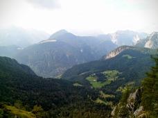 Panorama verso Creta dal Cronz e Conca di Pricot