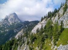 Panorama verso sella della Pridola