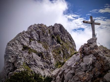 Cima del monte Tuglia dall'antecima