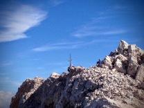 La vetta del Monte Pelmo.