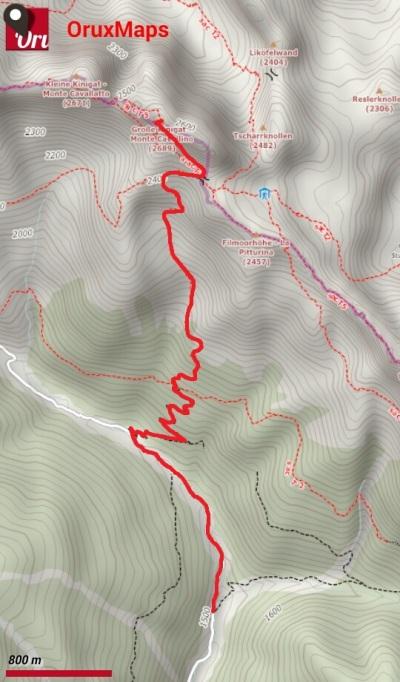 cavallino_mappa