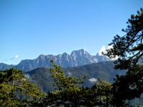 Panorama verso monte Cimone