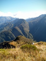 Panorama verso la dorsale Nische-Guarda