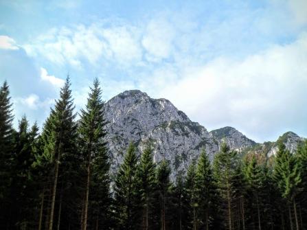 Monte Flop (est) dalla casera Zouf di Fau