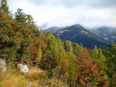 Panorama verso monte Cullar