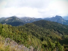 A sx monte Cullar e a dx Creta dal Cronz
