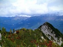 Panorama verso monte Zermula (a dx)