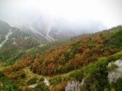 Panorama verso Foran da la Gjaline