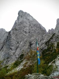 La sfinge dal rifugio Grauzaria