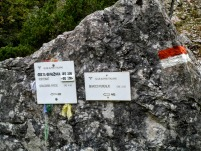 Indicazioni al rifugio Grauzaria