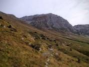 Panorama verso monte Rosso
