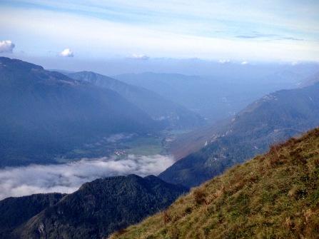 Panorama verso la valle dell'Isonzo